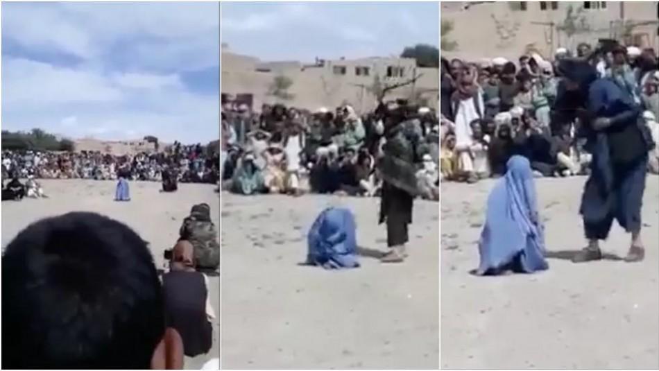 Azota a una mujer porque hablaba por teléfono con un hombre: indignación por video de talibanes