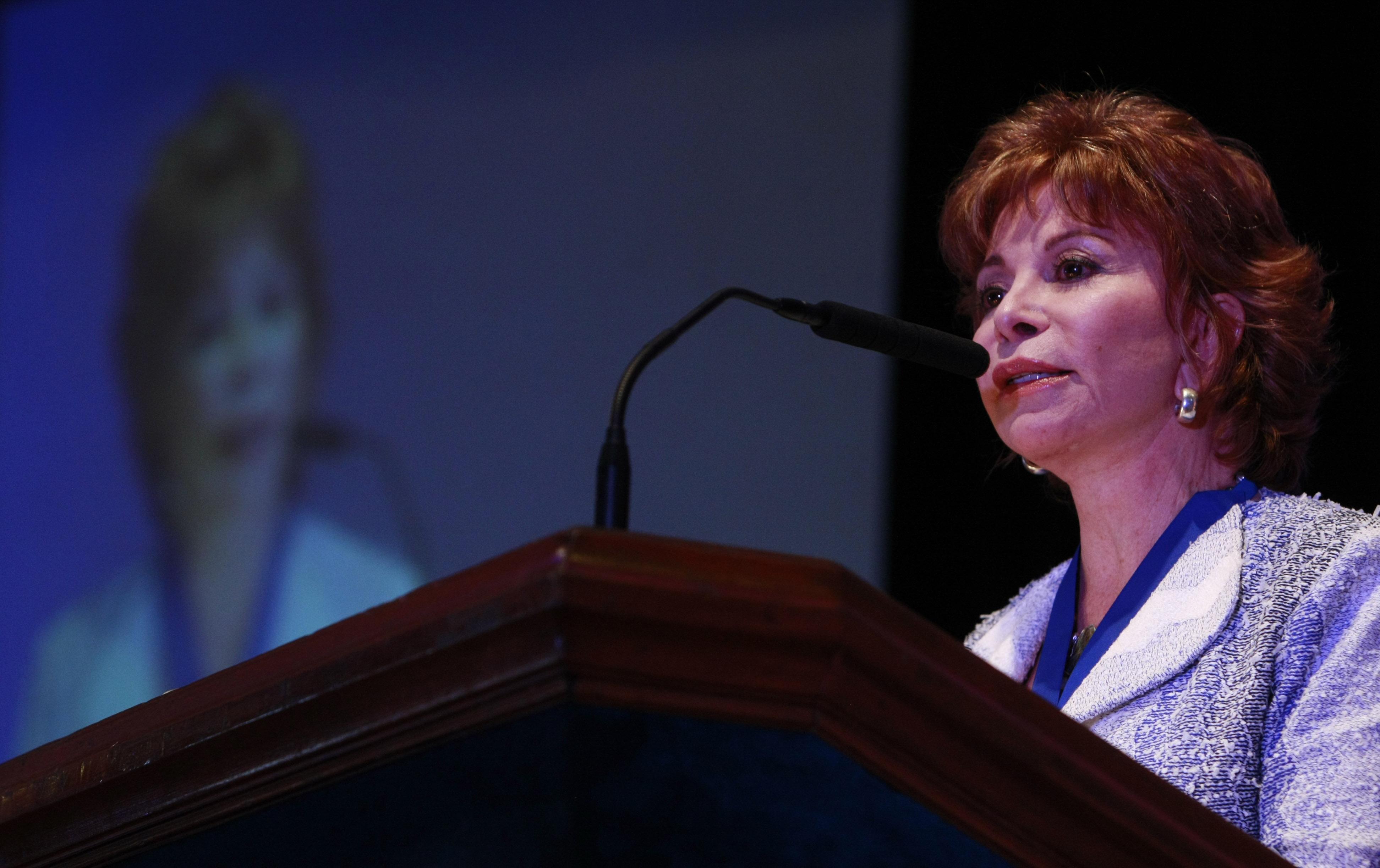Isabel Allende en Chile en 2015