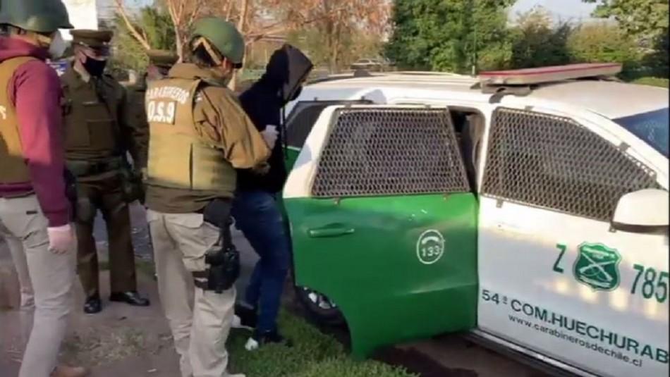 Video muestra detención de hombre que habría asesinado a taxista en Pudahuel