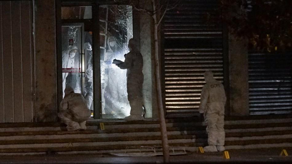 Ataque explosivo a BancoEstado Apumanque: no habría indicios de robo