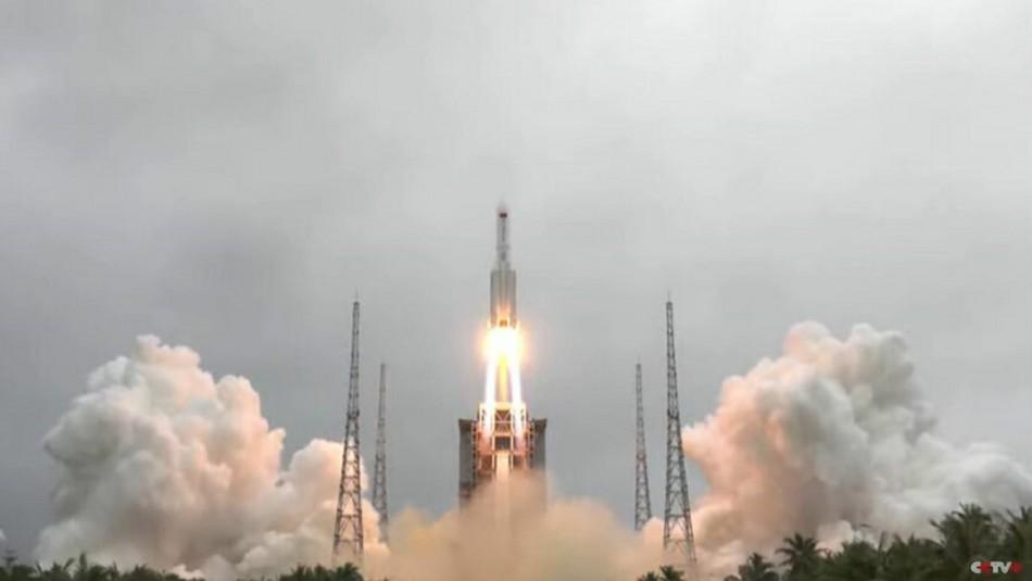Chile entre posibles puntos de impacto de cohete chino