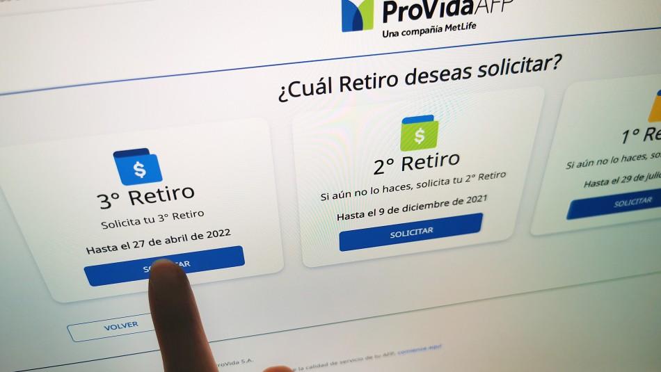 Tercer 10%: AFP Provida comenzará a pagar los retiros este martes