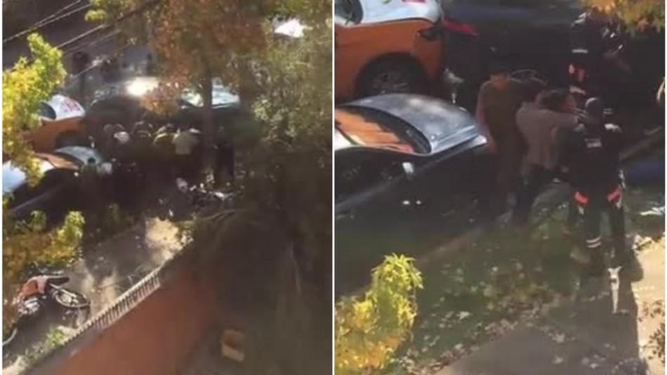 Video muestra momento en que Pablo Chill-E es detenido tras viajar en auto con encargo por robo