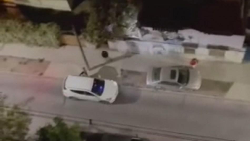 Gritos de vecinos logran frustrar robo de falsos PDI en San Miguel