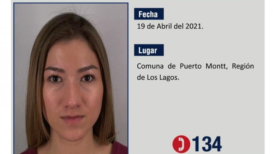 Encuentran viva a joven desaparecida hace 15 días en Puerto Montt