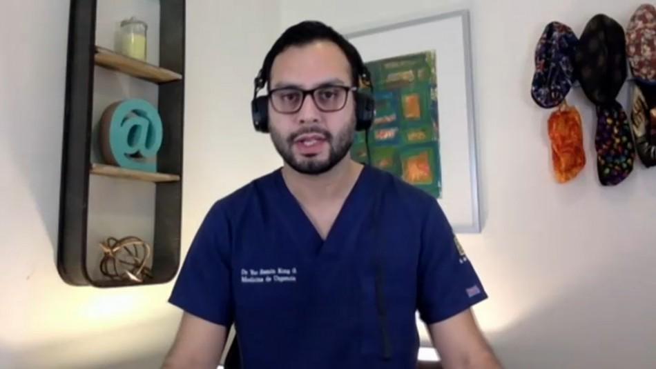 Emergenciólogo cuestiona libertades para vacunados: