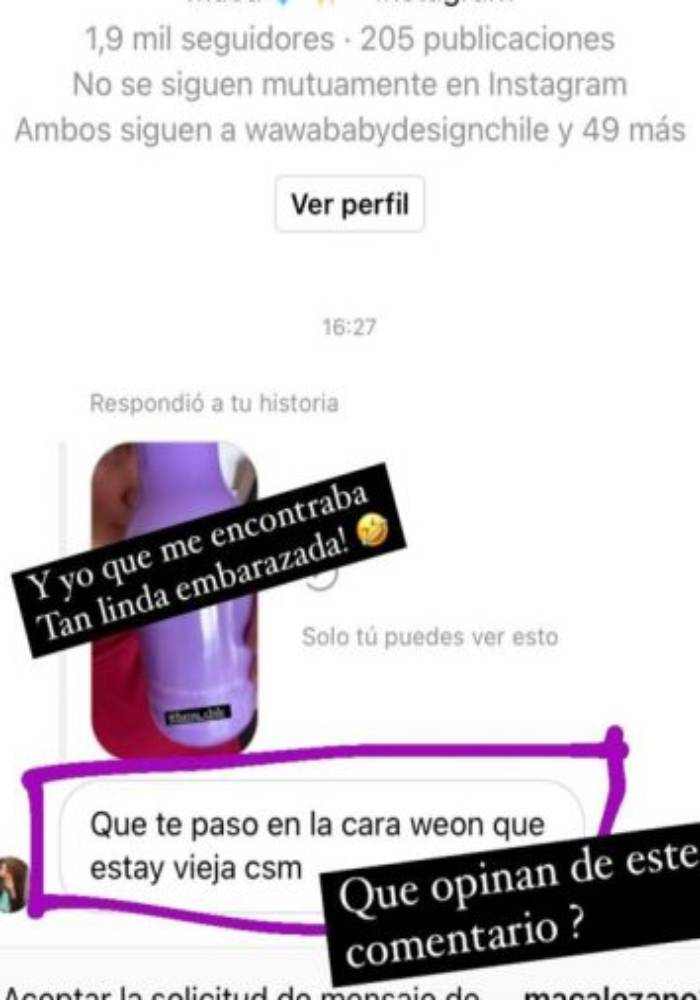 Historia de Javiera Acevedo