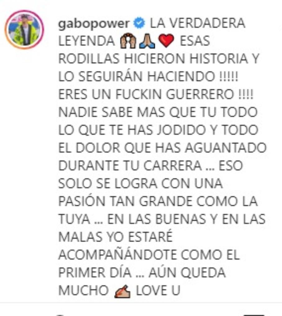 Comentario de Gabriel Peralta