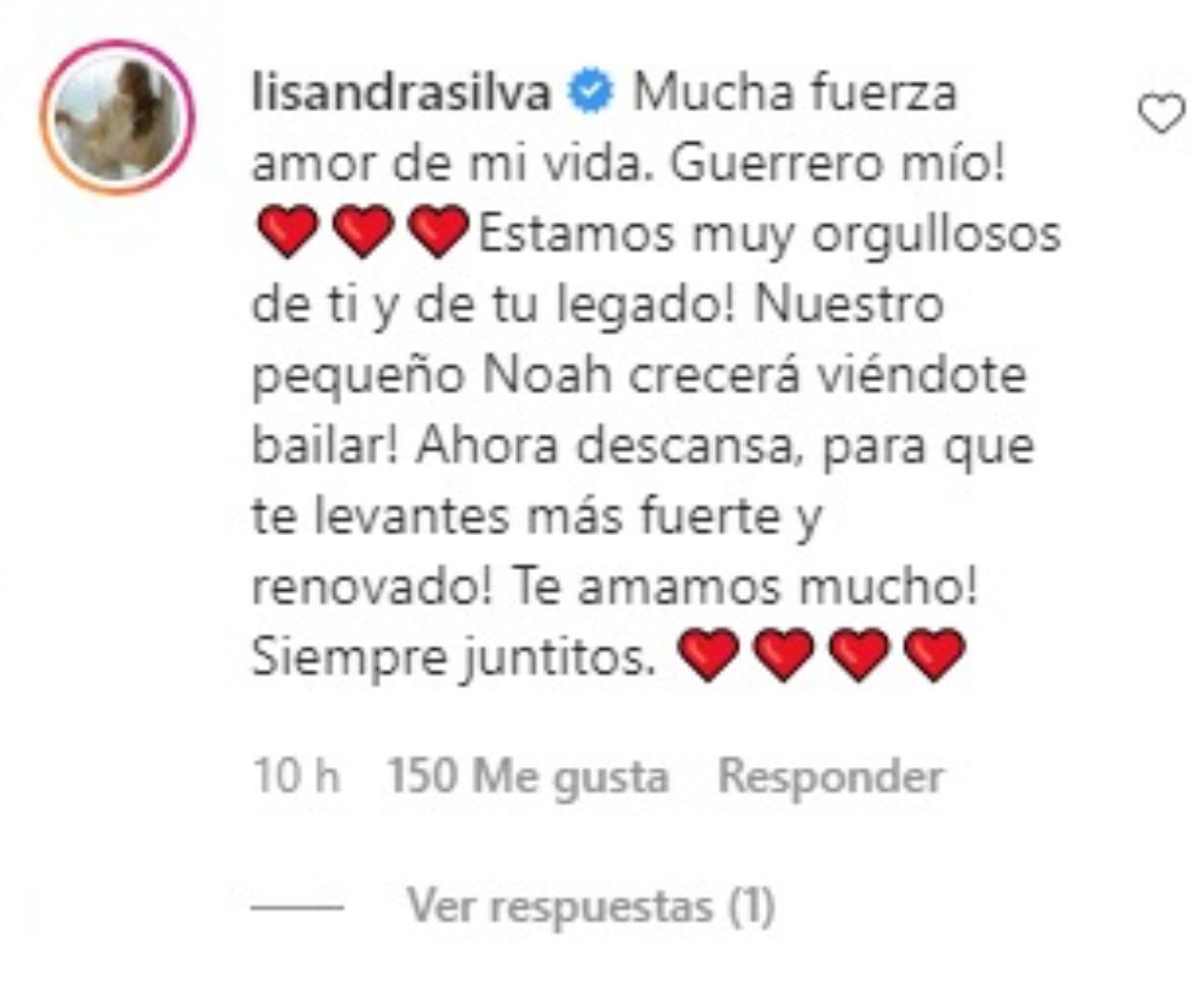 Comentario de Lisandra Silva