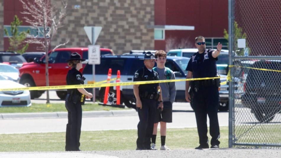 Niña dispara y deja a tres heridos en escuela de Estados Unidos