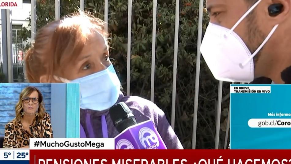 Adulta mayor quedó con secuelas post coronavirus: