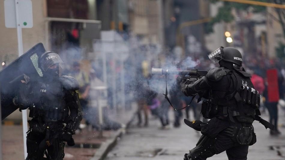 Cancillería y protestas en Colombia:
