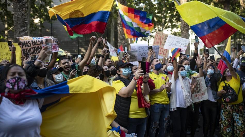Gobierno de Colombia busca detener protestas.