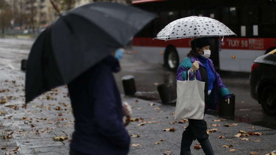 ¿Lluvia para el Día de la Madre?: pronostican precipitaciones para el domingo en Santiago