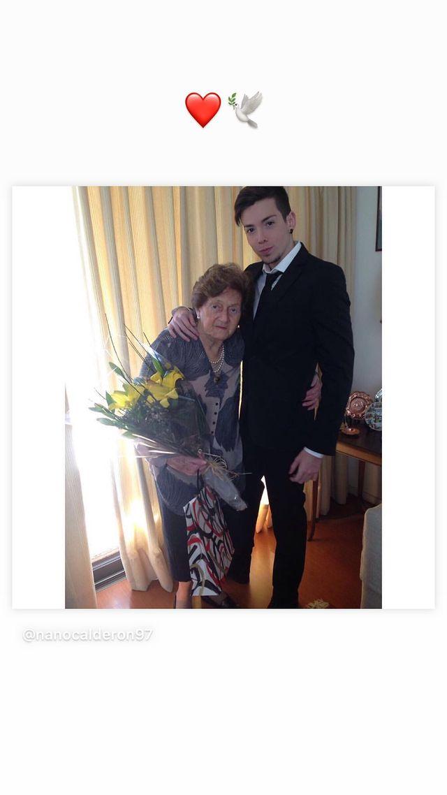 Historia de Nano Calderón con su fallecida abuela
