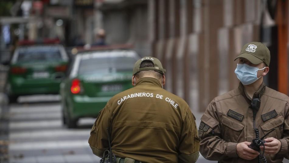 Femicidio en Renca: Agresor intentó quitarse la vida estrellando su vehículo contra una barrera