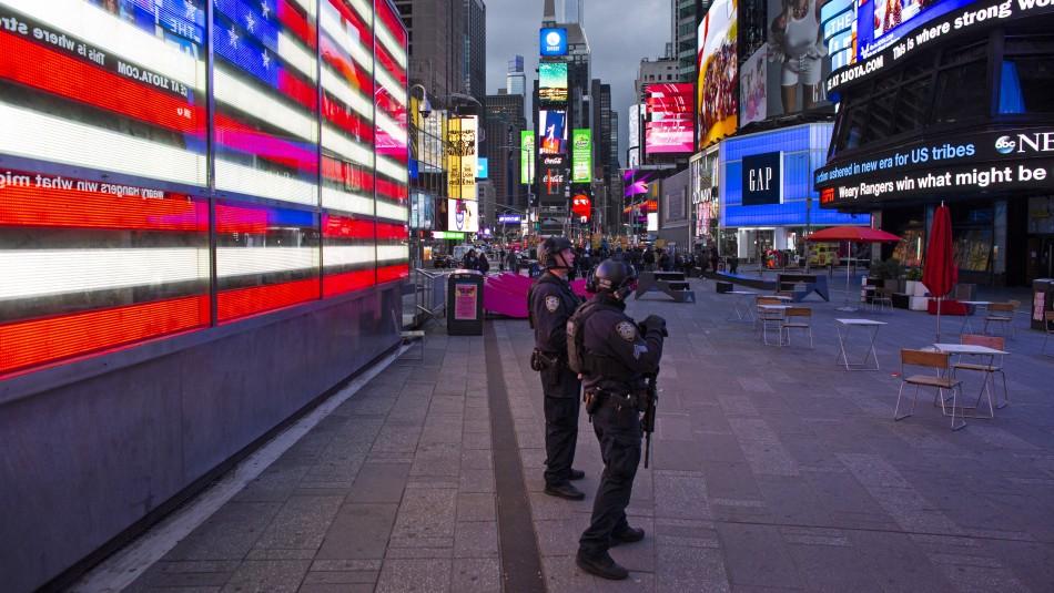 Tiroteo en Times Square deja heridos a dos mujeres y un niño de cuatro años