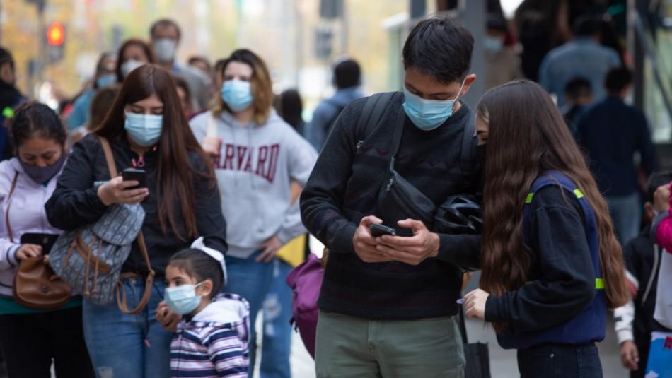 Informe epidemiológico: Seis de las diez comunas con más casos activos de Covid son de la RM