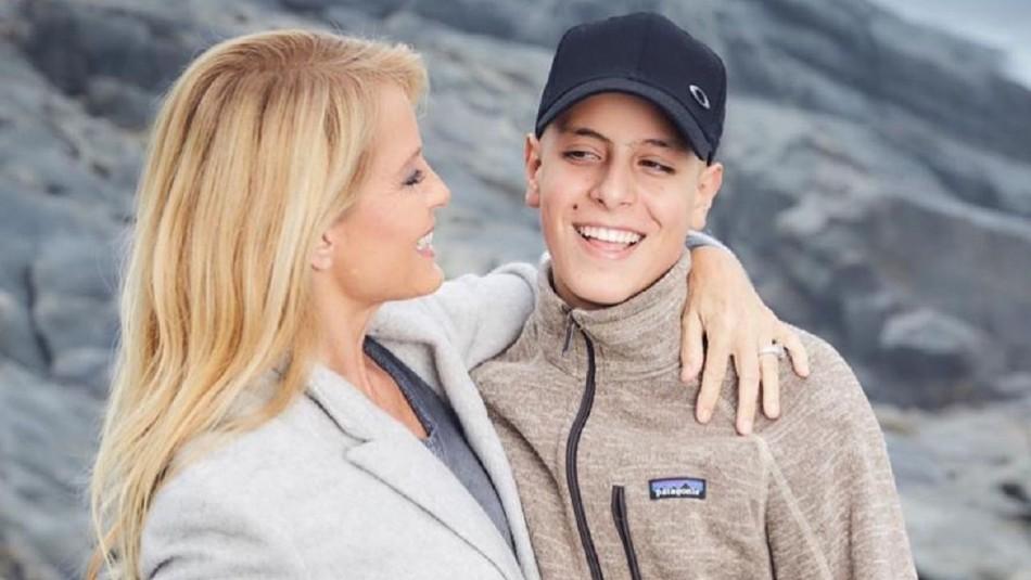 Cecilia Bolocco dedica tierno mensaje a su hijo Máximo: