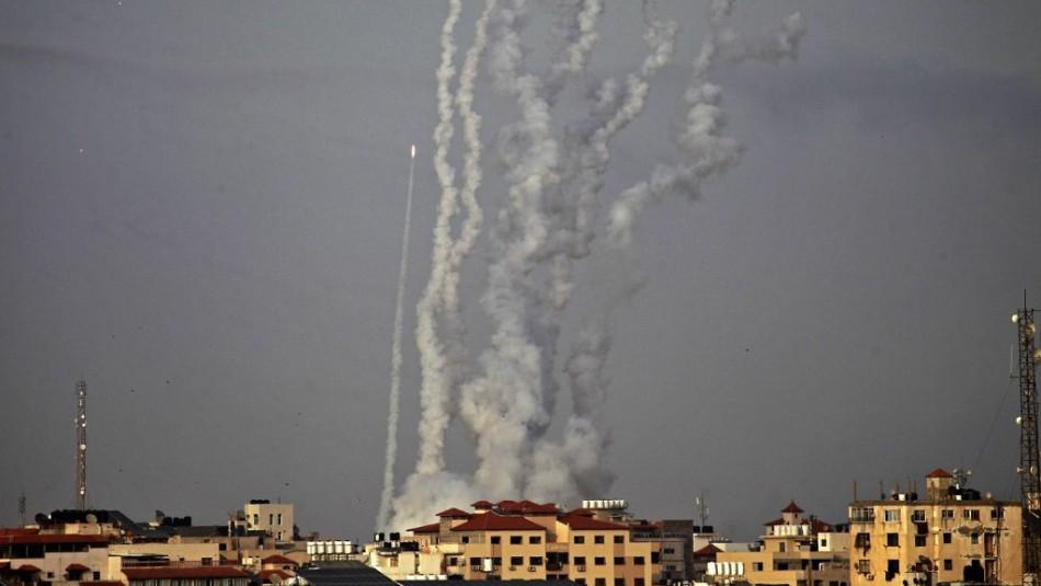Disparan cohetes desde la franja de Gaza hacia Israel