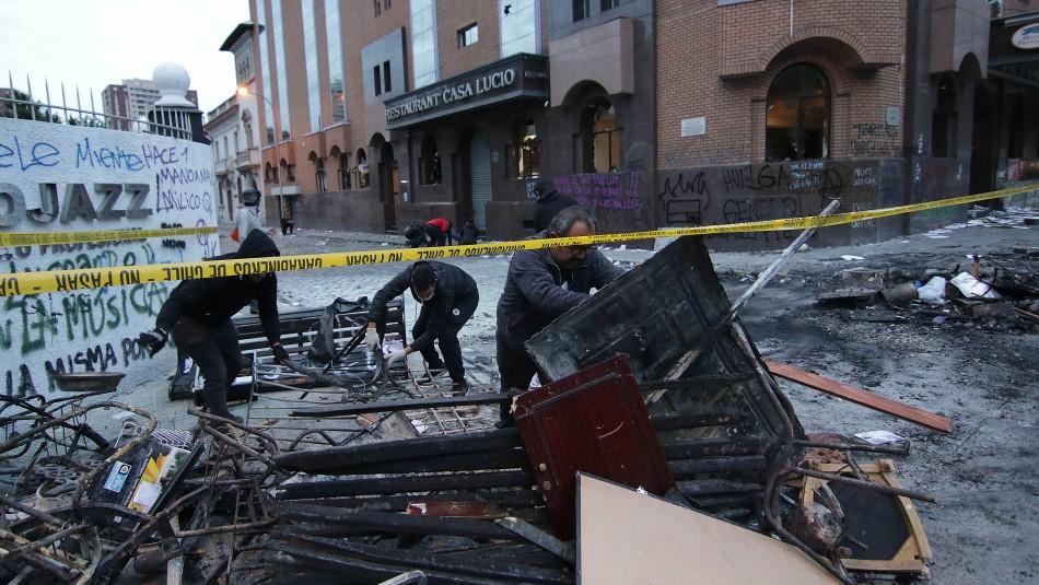 Condenan a más de 5 años de cárcel a los acusados por incendio en Hotel Principado de Asturias