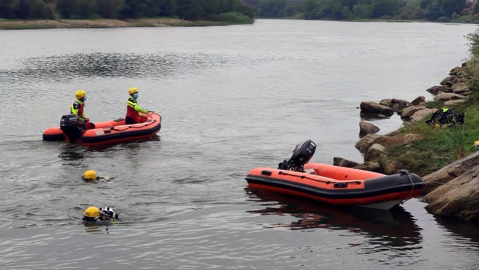 Buscan a Karim, niño perdido en aguas del río Ebro.