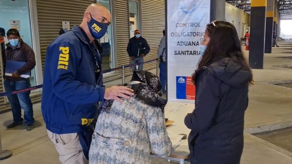 Mujer extraviada en Arica fue encontrada en Bolivia.