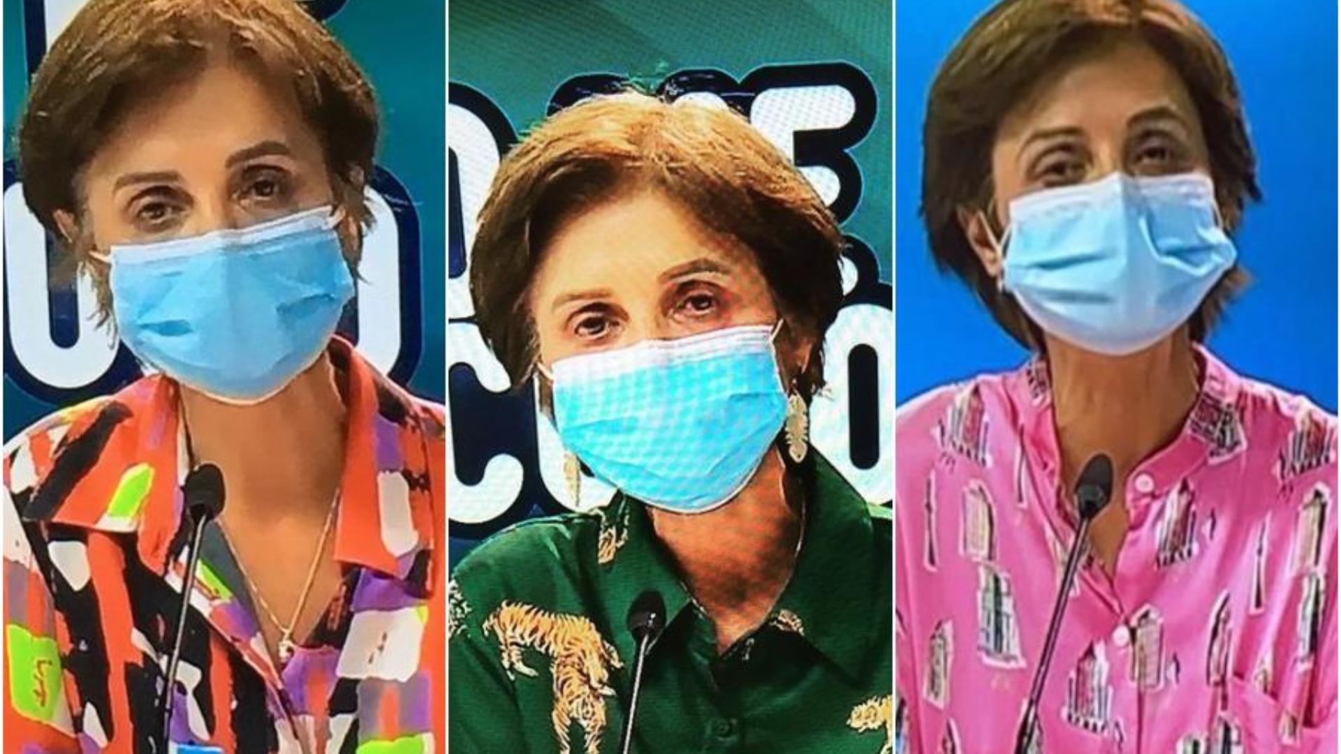Paula Daza en diferentes balances sanitarios