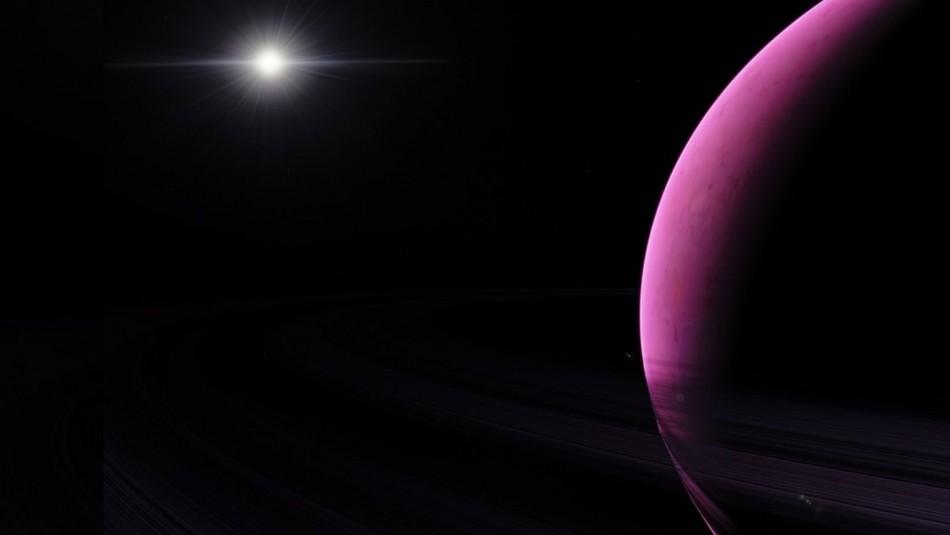 Astrónomos fotografiaron extraño exoplaneta gigante