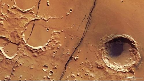 Volcanes de Marte podrían seguir activos según estudios recientes