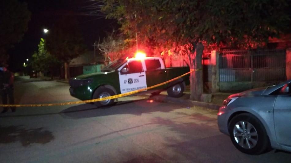 Hombre muere apuñalado tras intentar agredir a una pareja en Melipilla