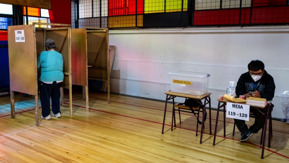 elecciones horario mesa votacion