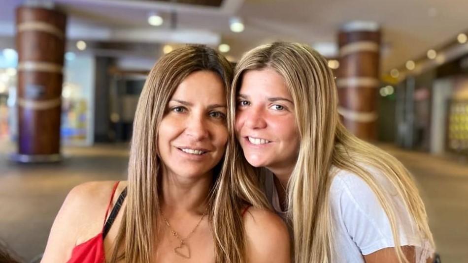 Savka Pollak y su hija Savka Martínez