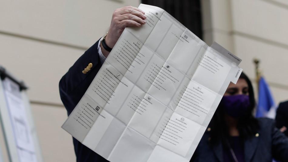 Megaelección 2021: ¿Por cuántos candidatos a constituyente tengo que votar?