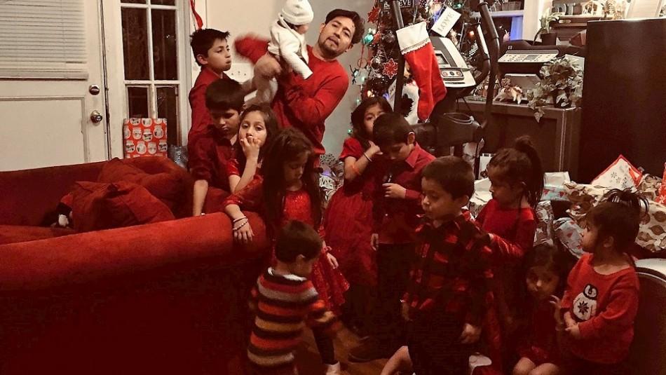 Pareja tiene 16 hijos y todos sus nombres empiezan por la letra C en honor a su padre