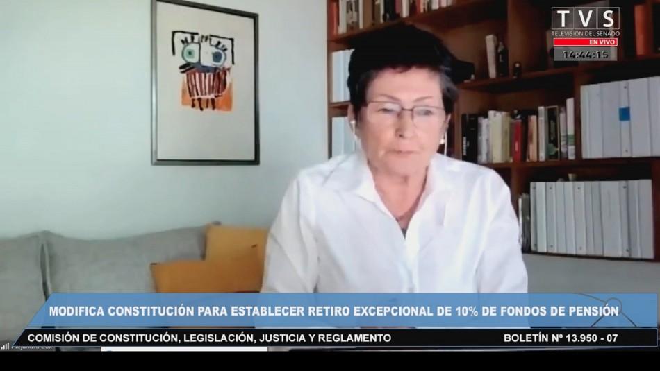 Presidenta de las AFP y polémicos dichos: