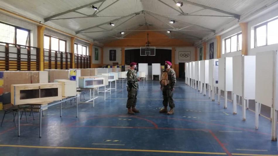 Militares se despliegan con miras a elecciones del 15 y 16 de mayo.