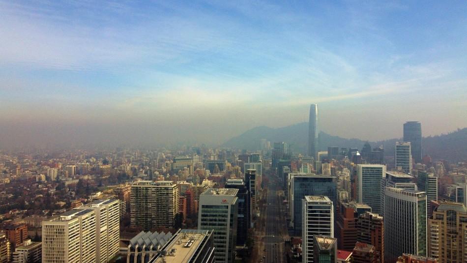 Decretan la primera alerta ambiental del año para la Región Metropolitana