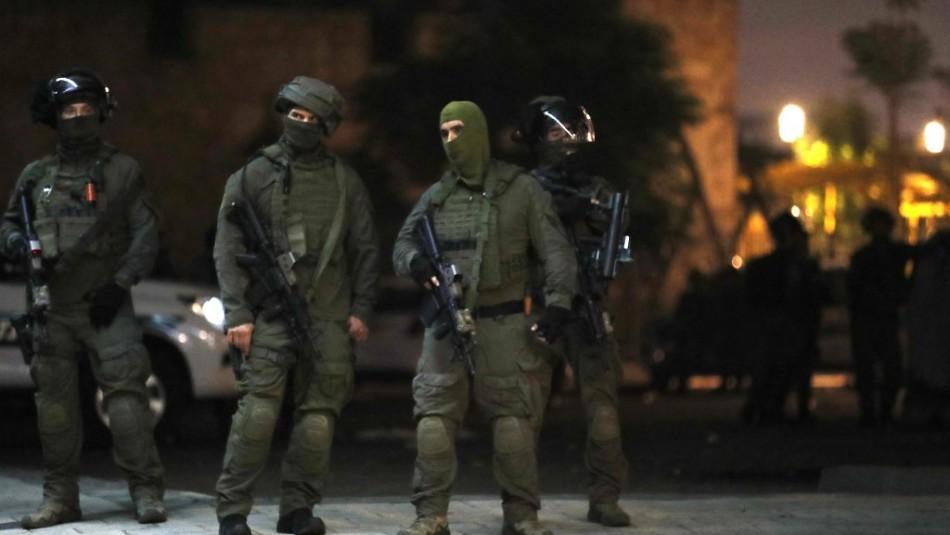 Soldados israelíes entran a la Franja de Gaza para realizar ataque junto a la aviación