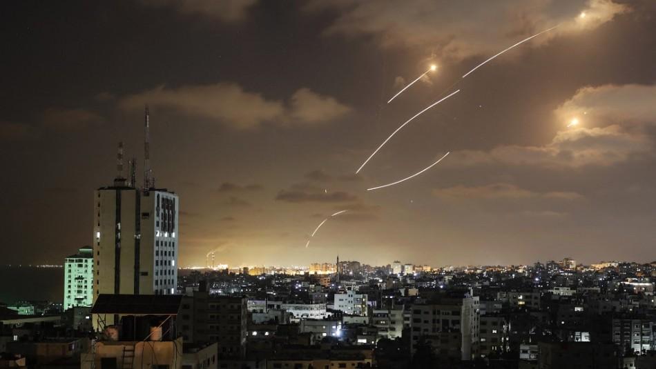 Tres cohetes son lanzados desde Siria hacia Israel en medio de conflicto en la Franja de Gaza