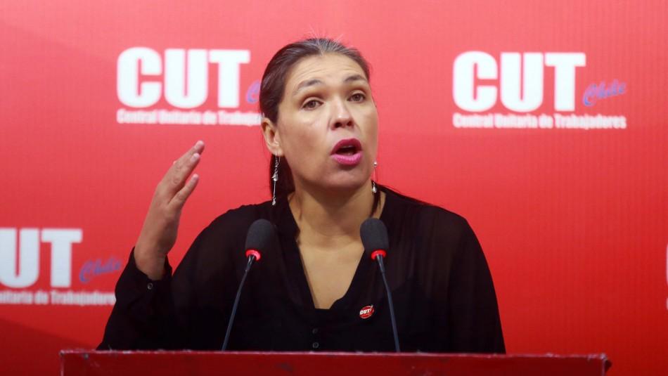 Bárbara Figueroa quedó fuera de la Constituyente: Revisa cómo le fue a la presidenta de la CUT