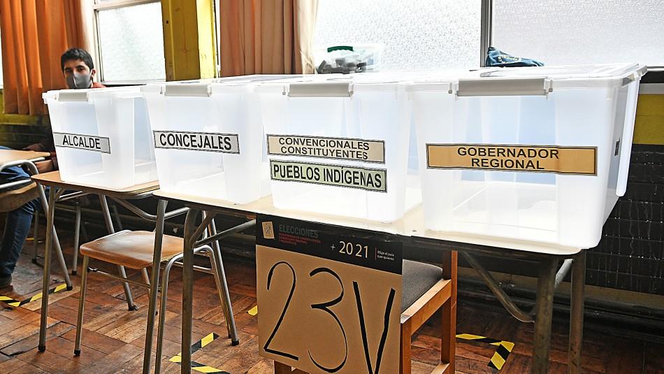Elecciones 2021: Más del 40% de las mesas ya se encuentran constituidas