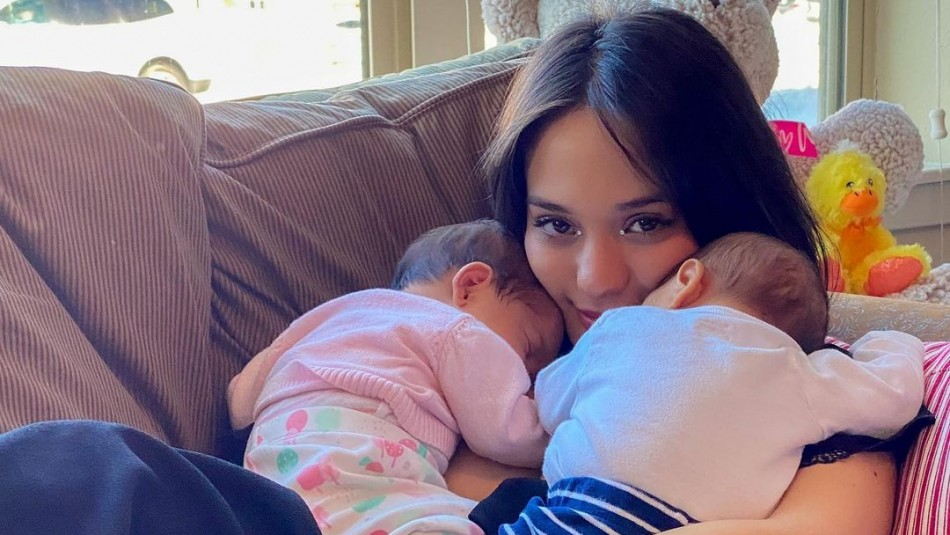 Cuida a sus hijos en Estados Unidos: Rocío Toscano confirma que se separó del padre de sus bebés