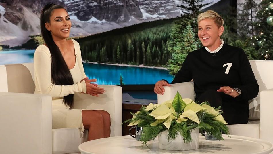 Kim Kardashian recuerda sus looks en el show de Ellen DeGeneres y revela que la va a
