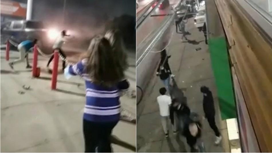 [VIDEO] Conductor ebrio realiza extraña maniobra y choca a cuatro autos en Quillota