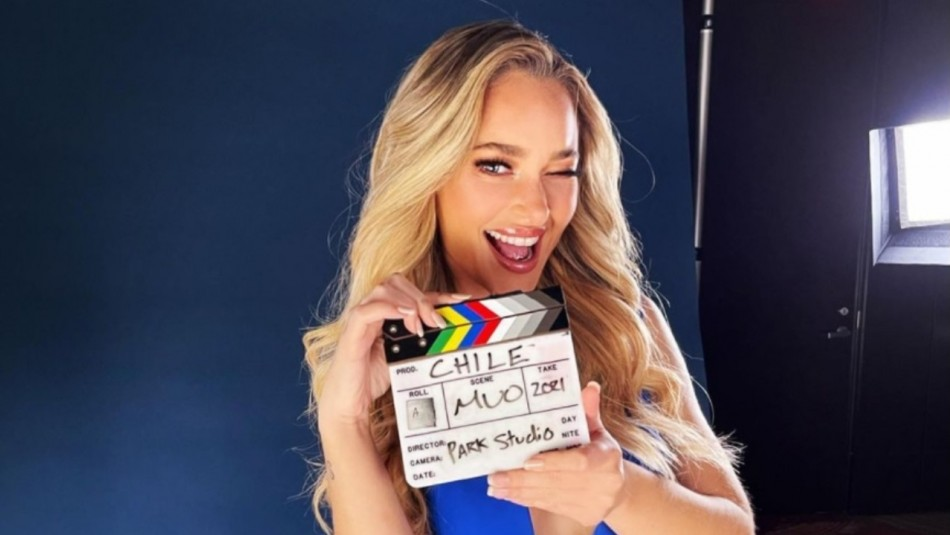 Daniela Nicolás deslumbra con sobrio traje de baño en competencia preliminar del Miss Universo
