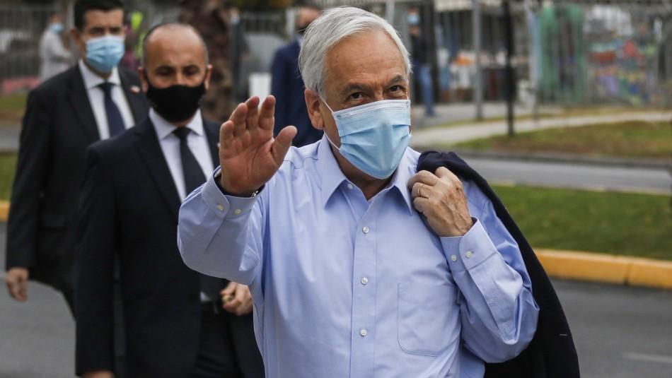 Presidente Piñera tras votar: