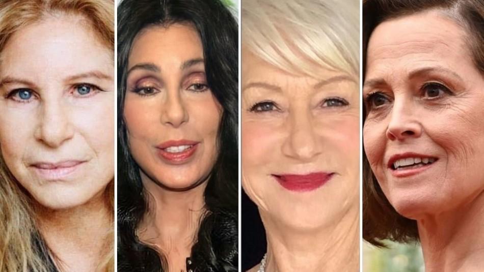 Así lucían estas cuatro actrices antes de alcanzar la fama: Hoy tienen más de 70 años