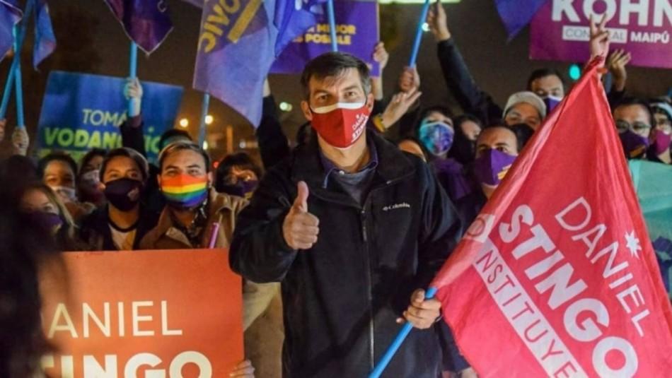 Daniel Stingo se convierte en constituyente con mayoría nacional: Obtuvo más de 100 mil votos