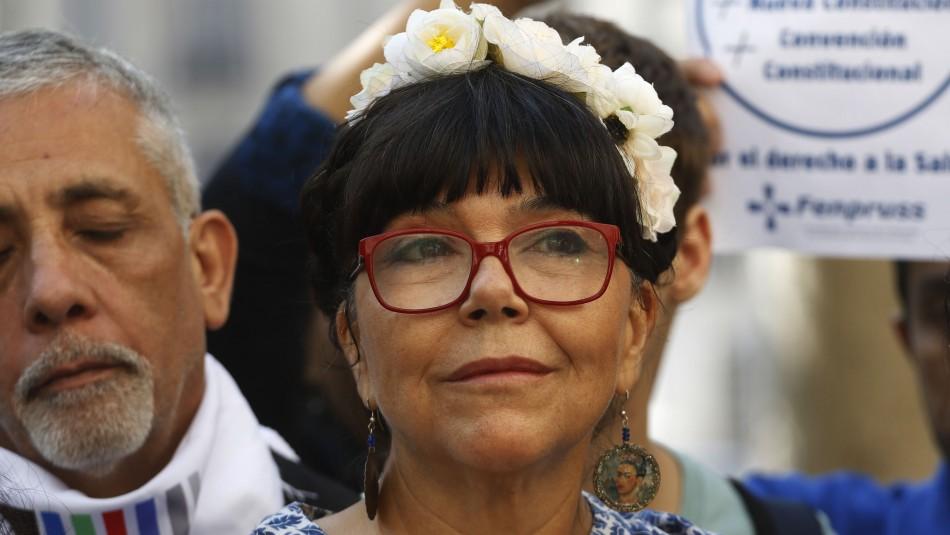 Malucha Pinto tras ser escogida constituyente: